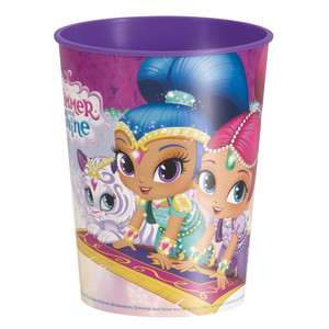 Shimmer & Shine 16Oz Plastic Cup