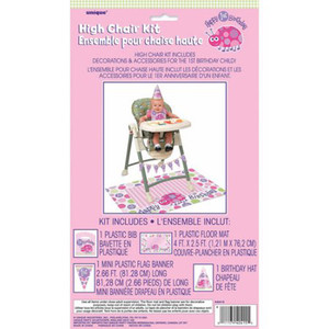 First Birthday Ladybug High Chair Kit