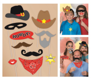 Western Photo Props 10 Count