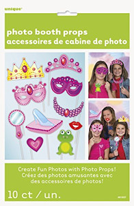 Princess Photo Props 10 Count