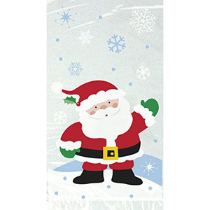 "5X9"" Santa Cello Bags 20 Count"