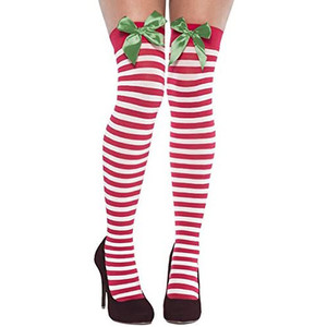 Holiday Thigh High Socks