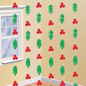 Holly String Decorations