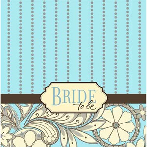 16 Bride To Be Bridal Shower Lunch Napkins