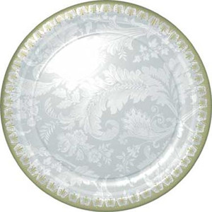 8 Wedding Elegance Dinner Plates