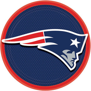 New England Patriots Dinner Plates