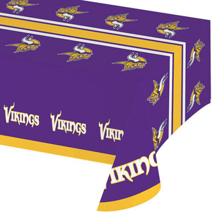 Minnesota Viking Plastic Table Cover