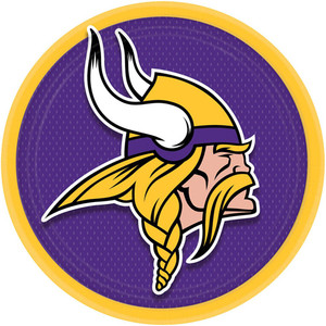 Minnesota Vikings Dinner Plates