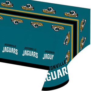 Jacksonville Jaguar Plastic Table Cover