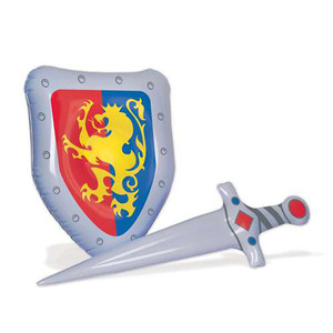Inflatable Sword & Shield Set