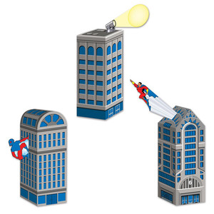Hero Cityscape Favor Boxes