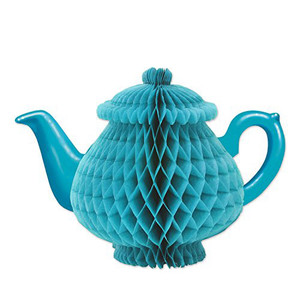 Tissue Teapot Centerpiece