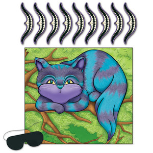 Pin The Smile On The Cheshire Cat Game