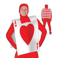 Plastic Card Suit Vest
