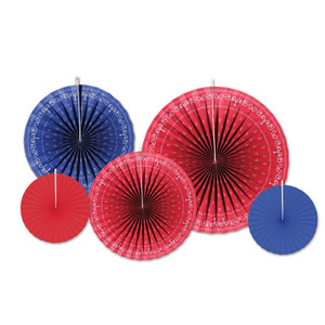 Bandana Accordion Paper Fans