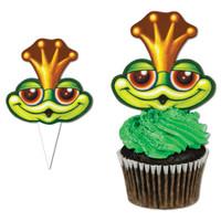 Frog Cupcake Picks