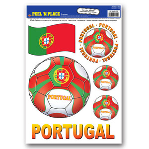 "12"" x 17"" Peel 'N Place - Portugal"