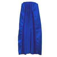 Blue Fabric Cape