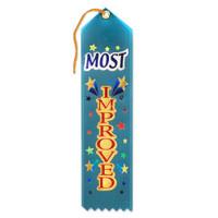 Most Improved Award Ribbon