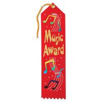 Music Award Ribbon