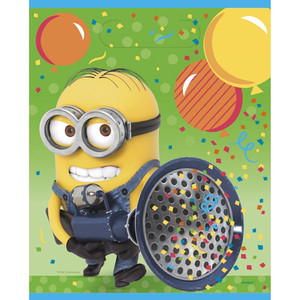 Despicable Me Loot Bags 8 Count in Multi-Color