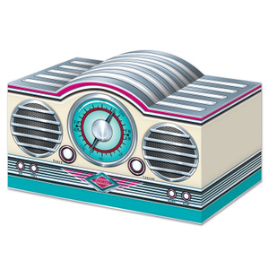 3-D Rock & Roll Radio Centerpiece