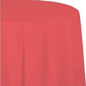 Coral Octy/Round Table Cover