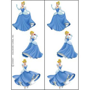 2 Disney Cinderella Tattoos Sheets