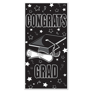 Congrats Grad Door Cover Party Decor