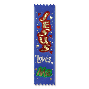 Jesus Loves Me Value Pack Ribbon
