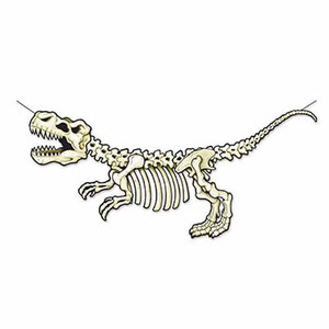 T-Rex Skeleton Streamer