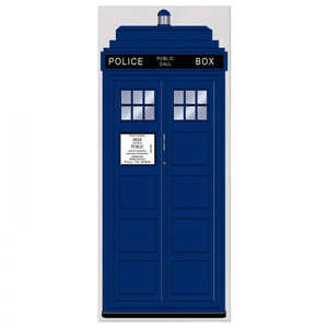 Police Call Box Door Cover