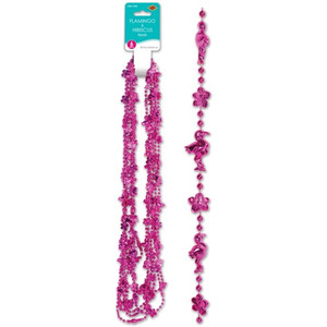 Flamingo and Hibiscus Beads
