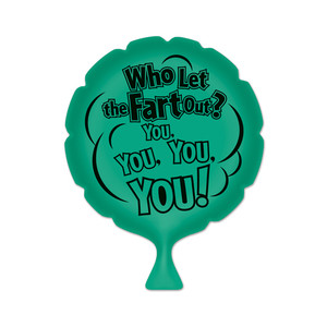 Who Let The Fart Out? Whoopee Cushion