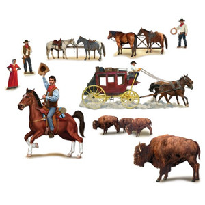 Wild West Character Props