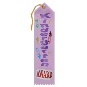 Kindergarten Award Ribbon