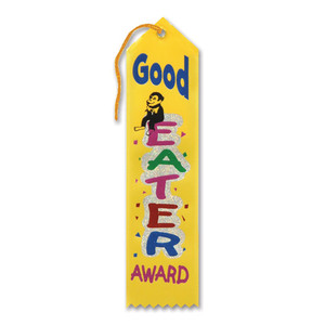 Good Eater Award Ribbon