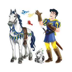Prince & Trusty Steed Props