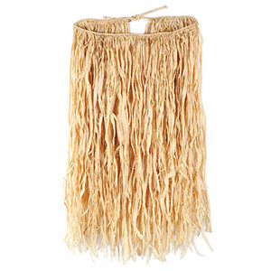 Adult Raffia Hula Skirt - Natural