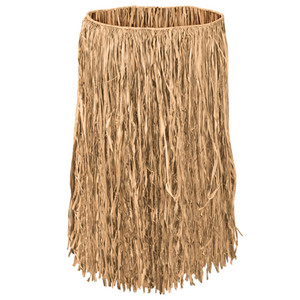Child Raffia Hula Skirt - Natural