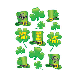 St Patrick's Day Clings