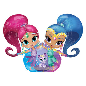 "53"" Shimmer and Shine Balloon"