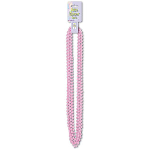 Pink Baby Shower Beads