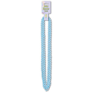 Light Blue Baby Shower Beads