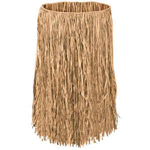 Extra Large Natural Raffia Hula Skirt