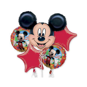 Mickey Mouse Balloons Bouquet
