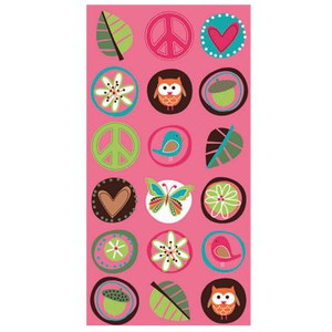8 Hippie Chick Party Loot Bags