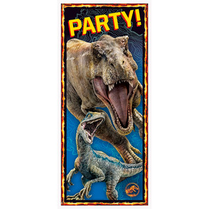 "27"" x 60"" Jurassic World 2 Door Poster"