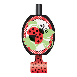 8 CT Lively Ladybugs Blowouts