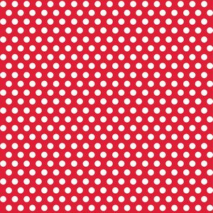 "30"" x 5 Ft Ruby Red Dot Giftwrap"